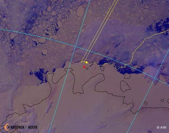 Imatge de satèl·lit