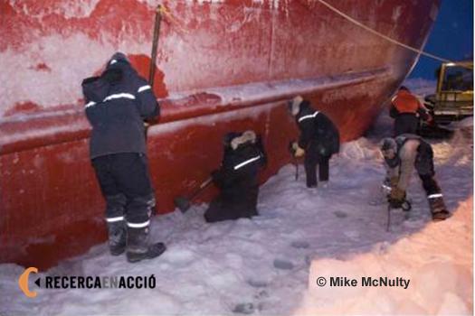 Atrapats al gel