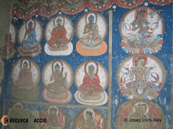 Pintures del monestir de Piwang